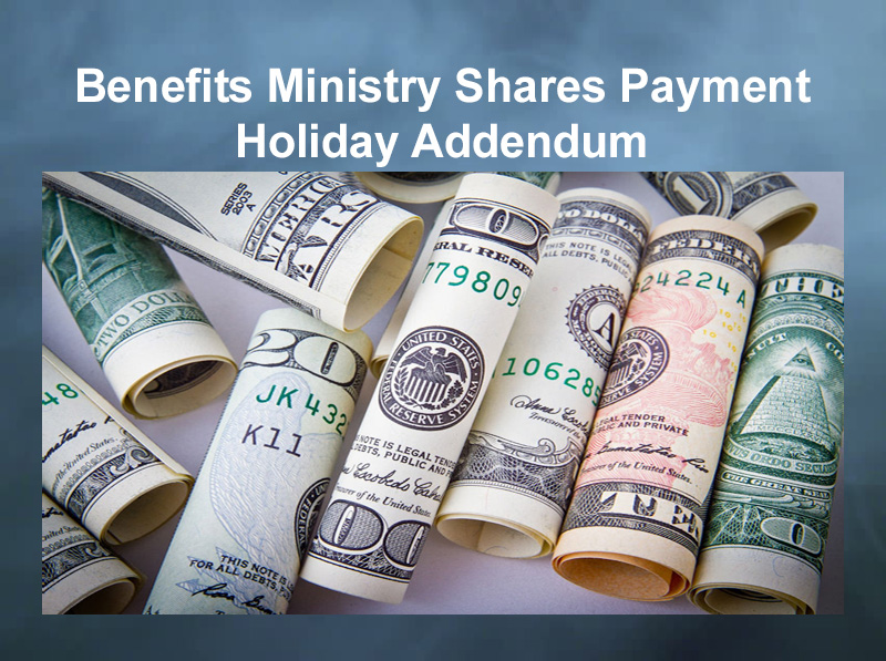 benefits ministry shares payment