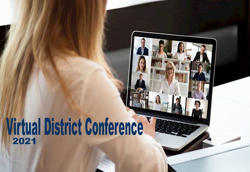 2021 virtual district conference